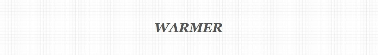 ウォーマー・セーター