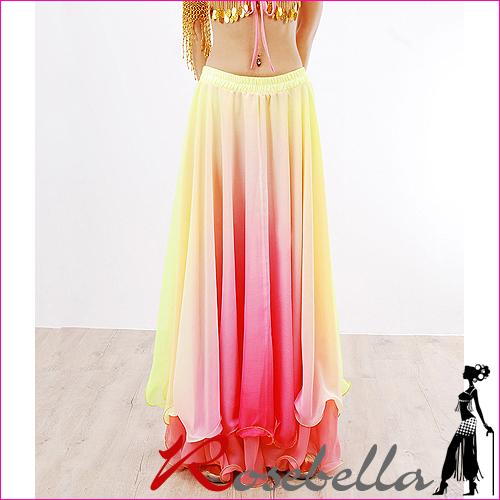 黄色&淡いピンク